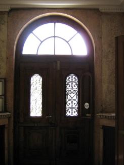 tesla museum door