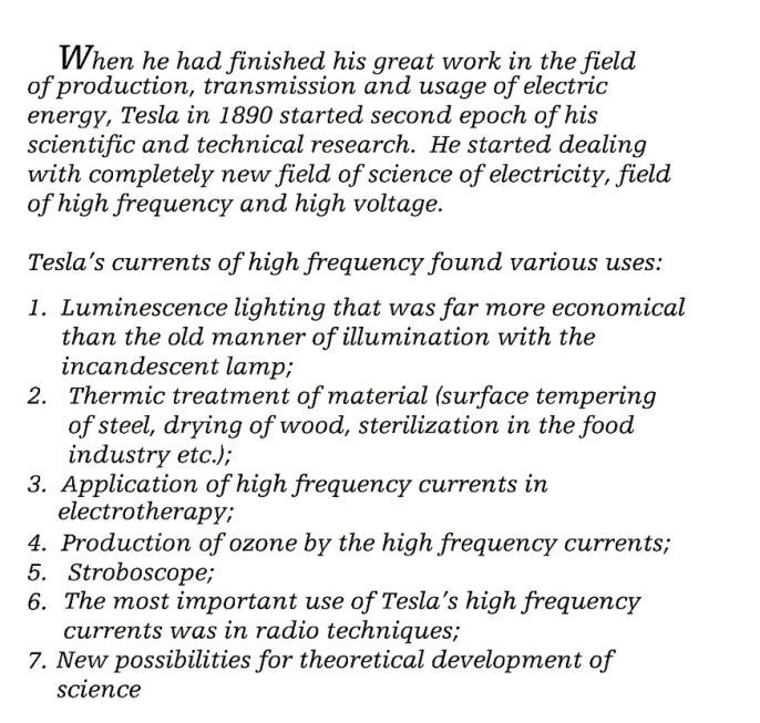tesla-high-frequencies