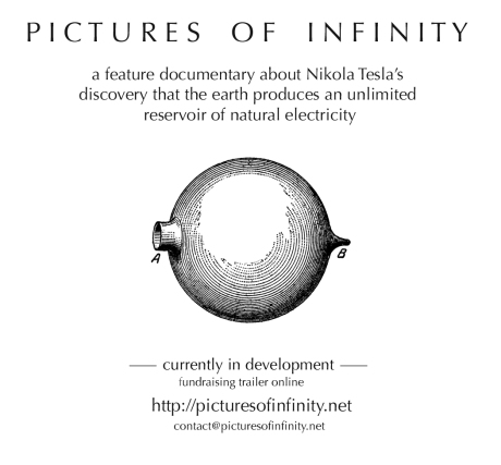 Pictures of Infinity - Ad for Infinite Energy Magazine