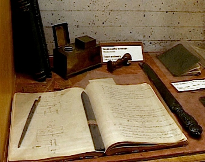 Tesla's notebook