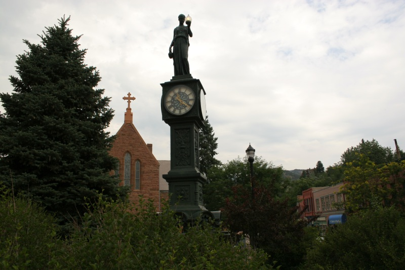 Colorado Springs - Clock
