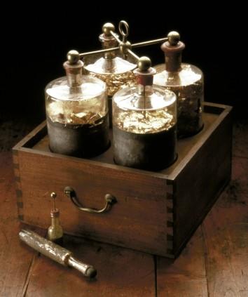 3. Leyden jars